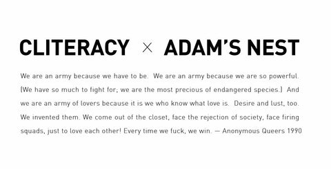 cliteracy adam's nest army of lovers