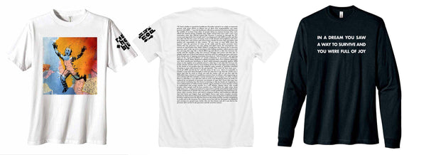 red hot wojnarowicz holzer nyc aids memorial t-shirts