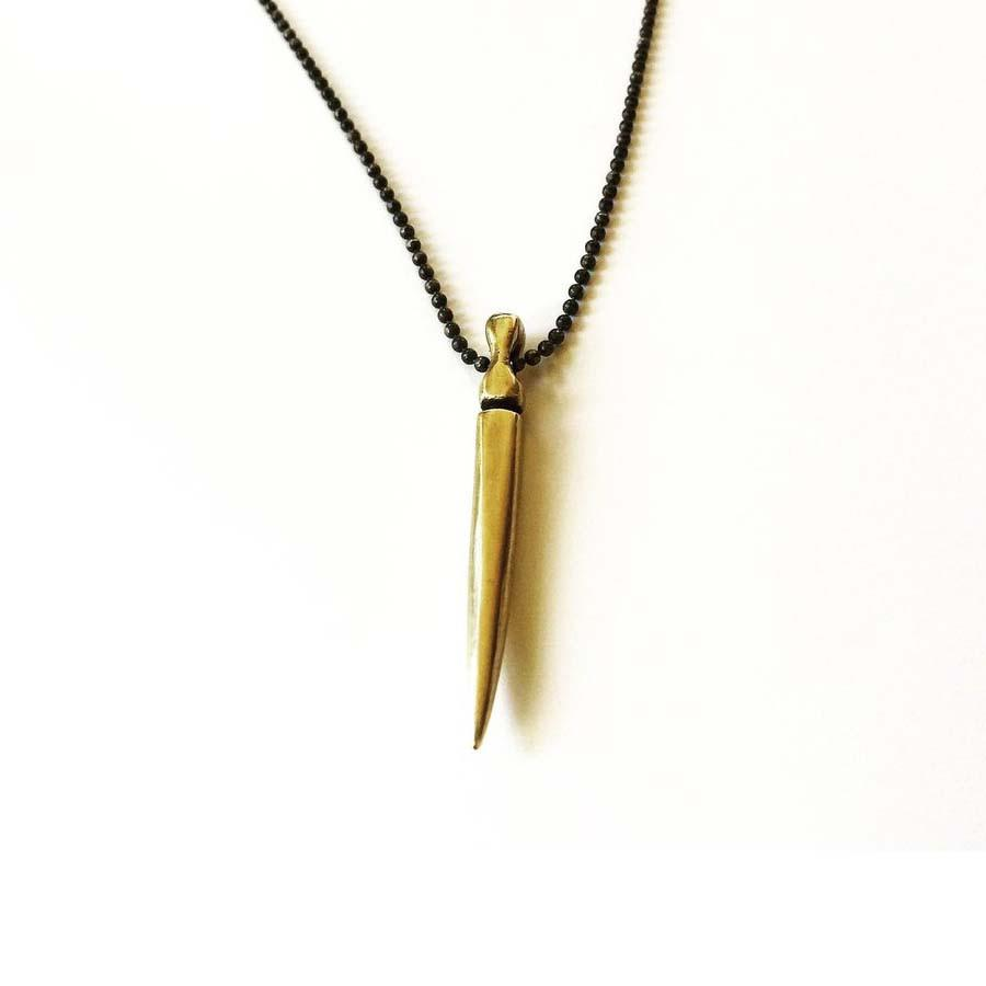 Gladius Sword Necklace in Bronze