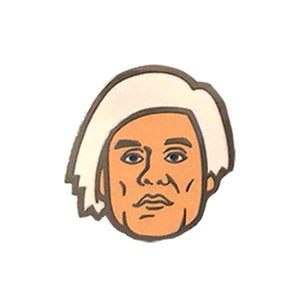 Andy Warhol Hard Enamel Pin