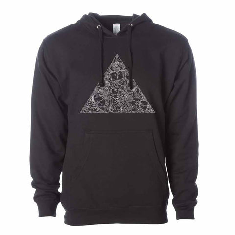 Brian Kenny Love Triangle Pullover Hooded Sweatshirt supporting The Trevor Project