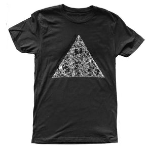 Brian Kenny Love Triangle T-Shirt supporting the Trevor Project black