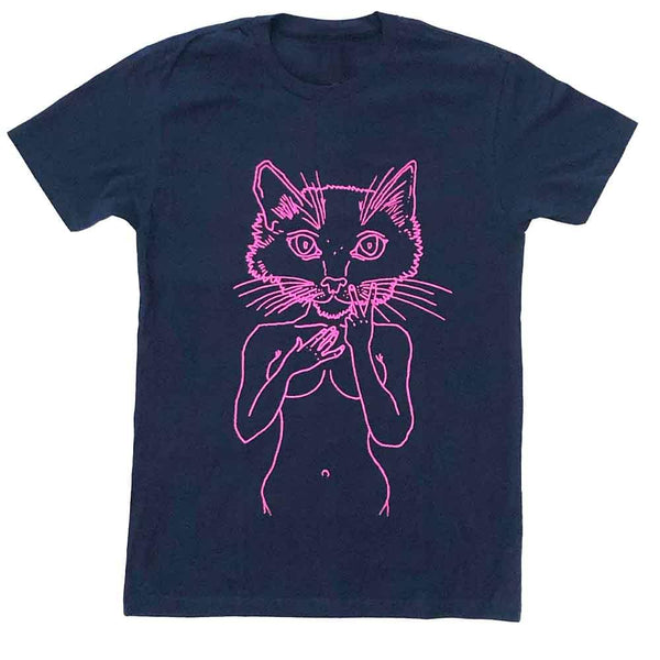 brian kenny pink pussycat t-shirt supporting planned parenthood navy adams nest