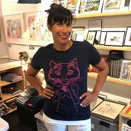 brian kenny pussycat shirts support planned parenthood adams nest