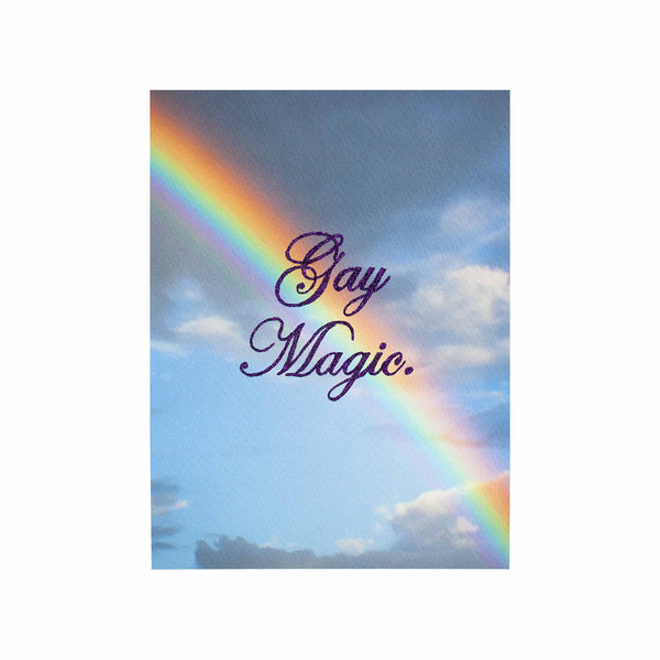 gay magic glitter rainbow clouds purple spinel chris ironside