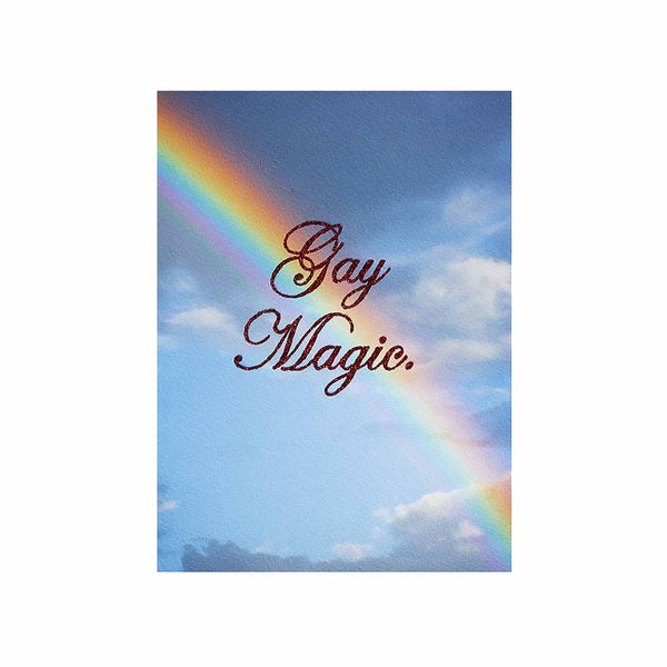 gay magic glitter rainbow clouds red corundum chris ironside
