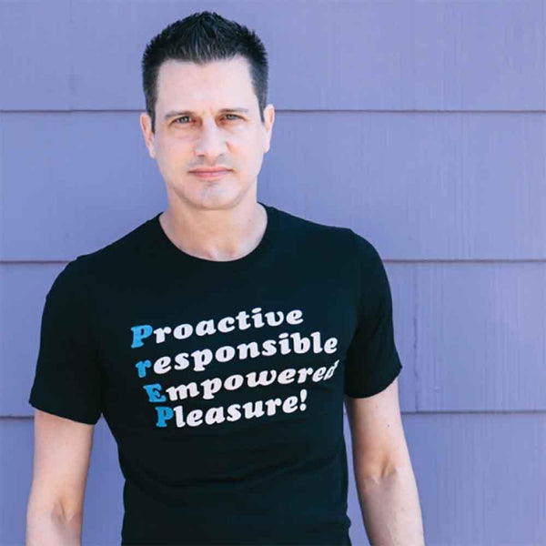 Prep Damon L Jacobs Proactive responsible empowered pleasure t-shirt