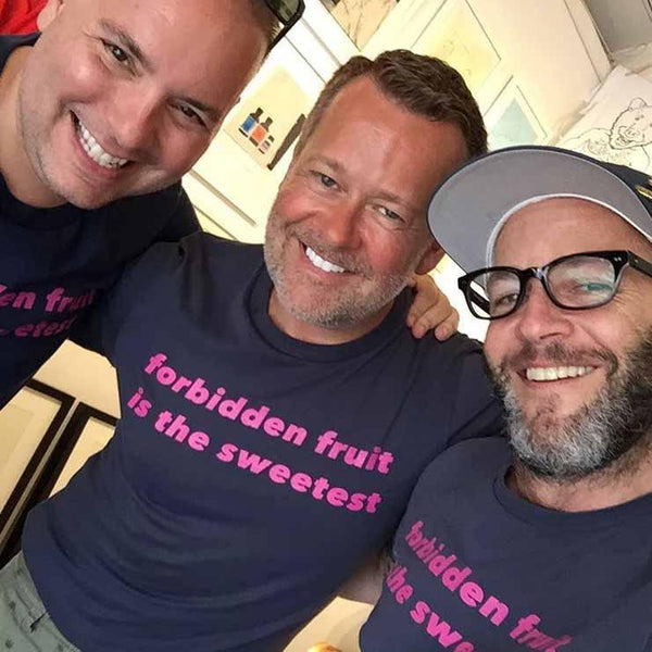 forbidden fruit is the sweetest t-shirt adams nest midnight navy group