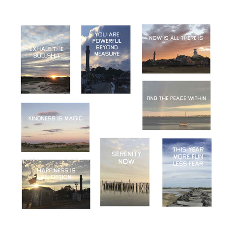 Provincetown Sights and Mantras Boxed Set of Greeting Cards