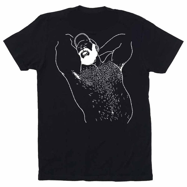 Kinky Needles Arms Up Bearded Bear 2020 T-shirt