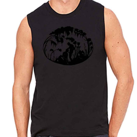 Kinky Needles Fellatio Sleeveless Tee