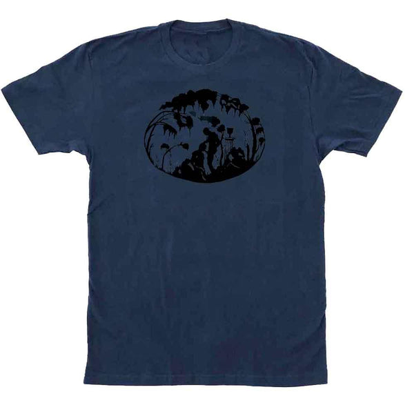 Kinky Needles Fellatio T-shirt indigo