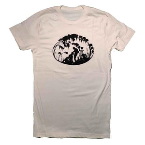 Kinky Needles Fellatio T-shirt Cream