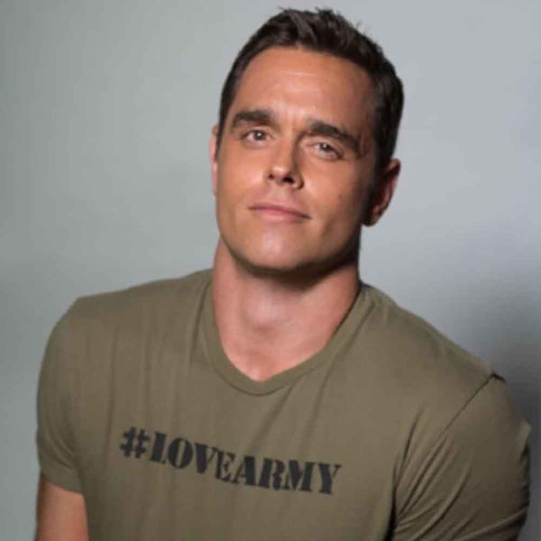 #lovearmy karl schmid uequalsu dream corps military green adams nest flat t-shirt