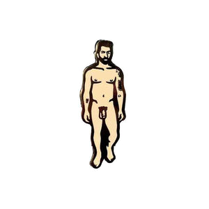 Nude Dude 2 Hard Enamel Pin