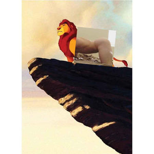 Naro Pinosa Lion King of the Jungle Postcard