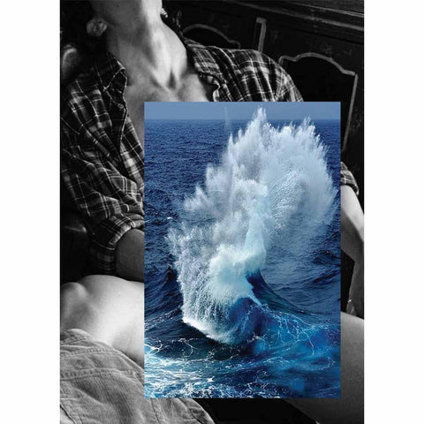 Naro Pinosa Wave Self Pleasuring Love Postcard