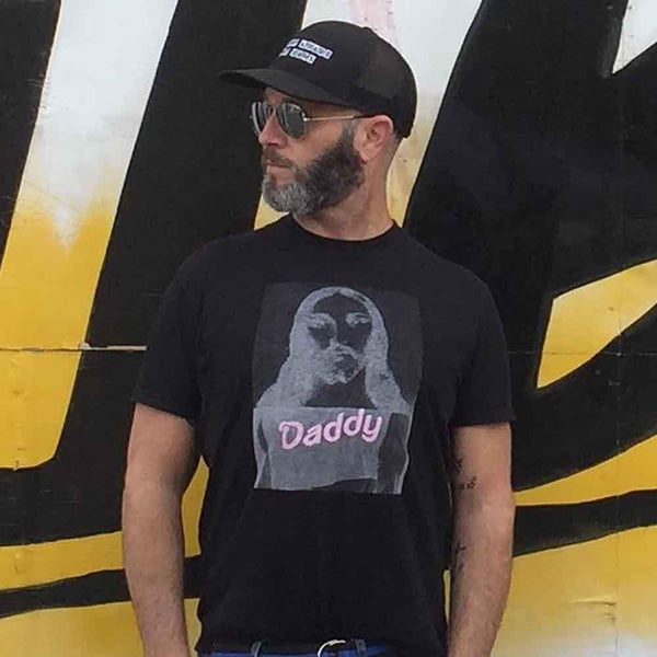 naropinosa jesus daddy t-shirt black flat adams nest adam singer