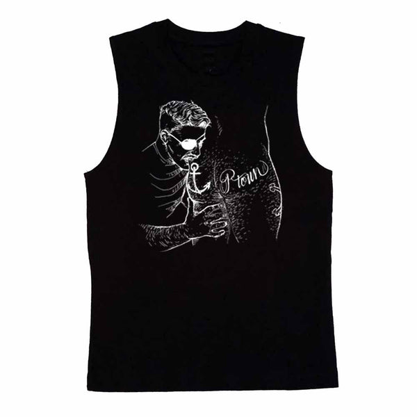 nathan rapport Ptown Butt Pirate sleeveless T-shirt black