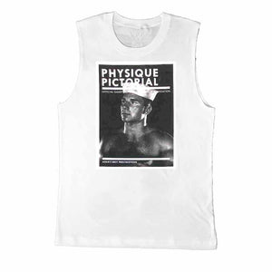 physique pictorial bob mizer sleeveless t-shirt adams nest AIDS SUPPORT GROUP CAPE COD