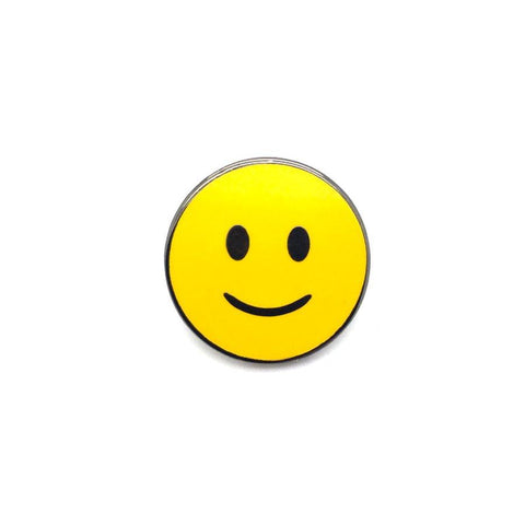 Smiling Face Pin
