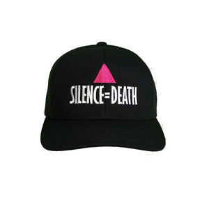 Silence equals Death Flexfit Mesh Trucker Hat