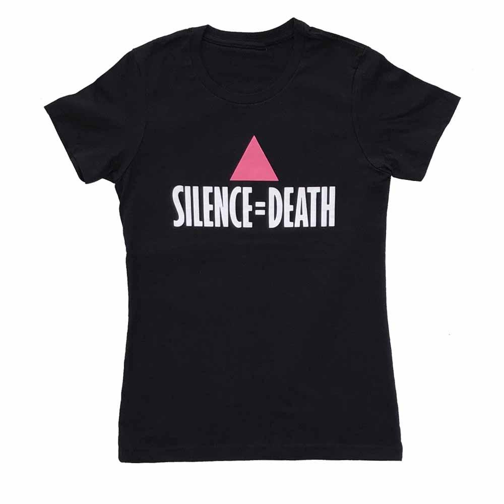 Silence = Death Women's Fit T-shirt act up