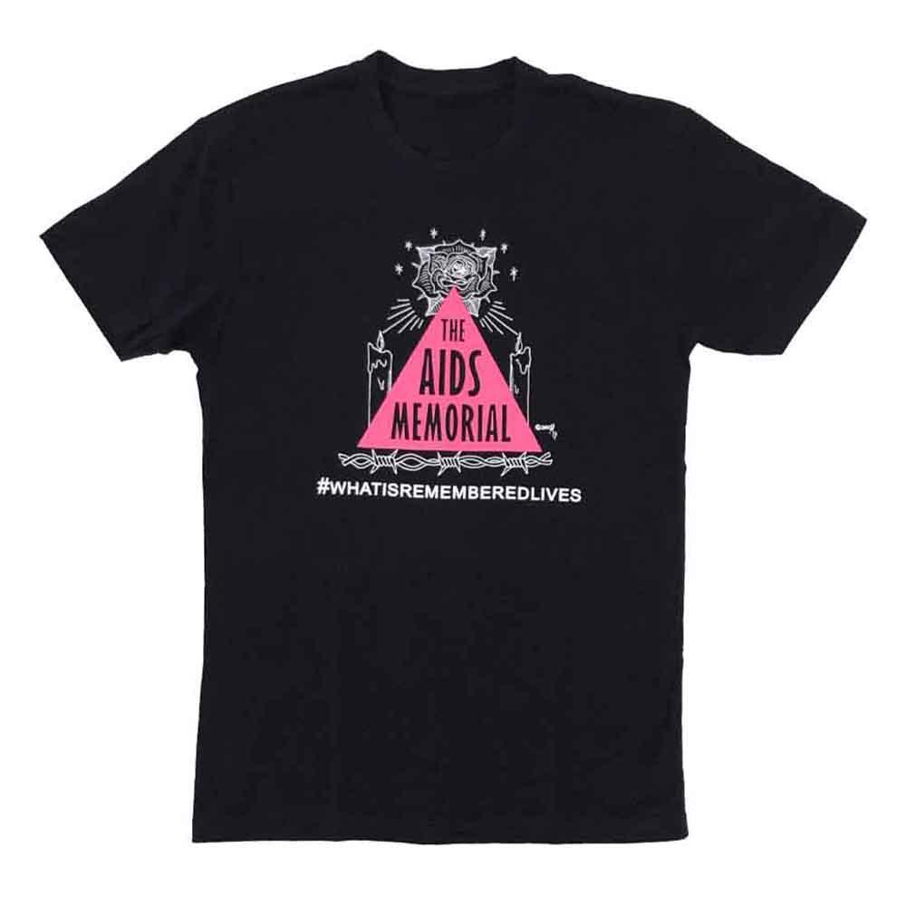 aids memorial t-shirt zach grear housing works adams nest