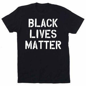 BLACK LIVES MATTER Charity T-shirt - SHIPS LATE JUNE