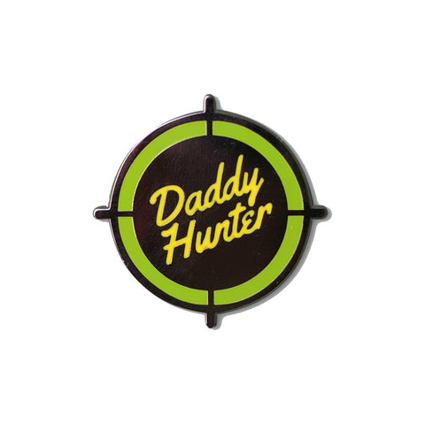 daddy hunter enamel lapel pin gaypin' guys