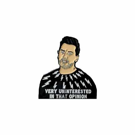 David Rose Schitt's Creek Enamel Pin