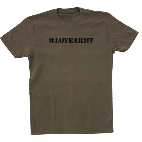 #lovearmy van jones dream corps military green adams nest flat t-shirt