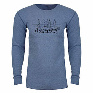 Nathan Rapport Provincetown Dune Long Sleeve Thermal souvenir T-shirt