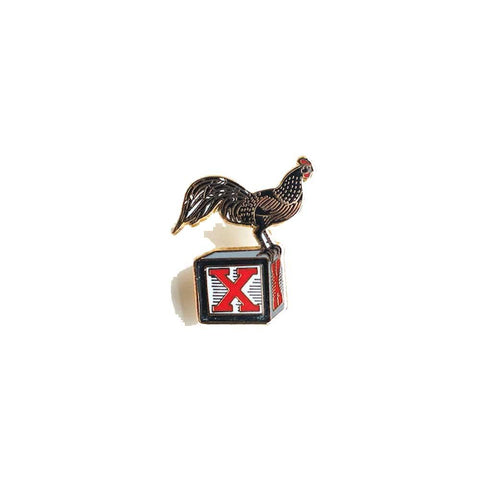 Coq Bloq Enamel Pin revolution art shop