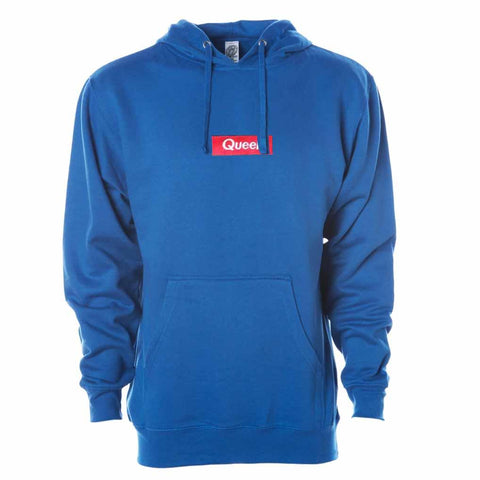 Queer Pullover Hooded Sweatshirt Royal