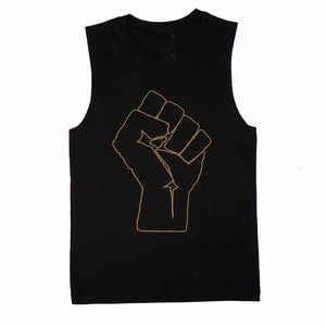 Solidarity Fist Sleeveless T-shirt  ACLU