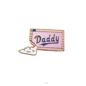 Sugar Daddy Enamel lapel pin Gaypin' guys