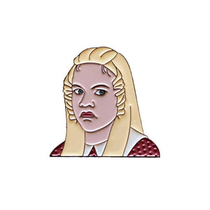 """Sure Jan"" Jan Brady Bunch Enamel Pin"