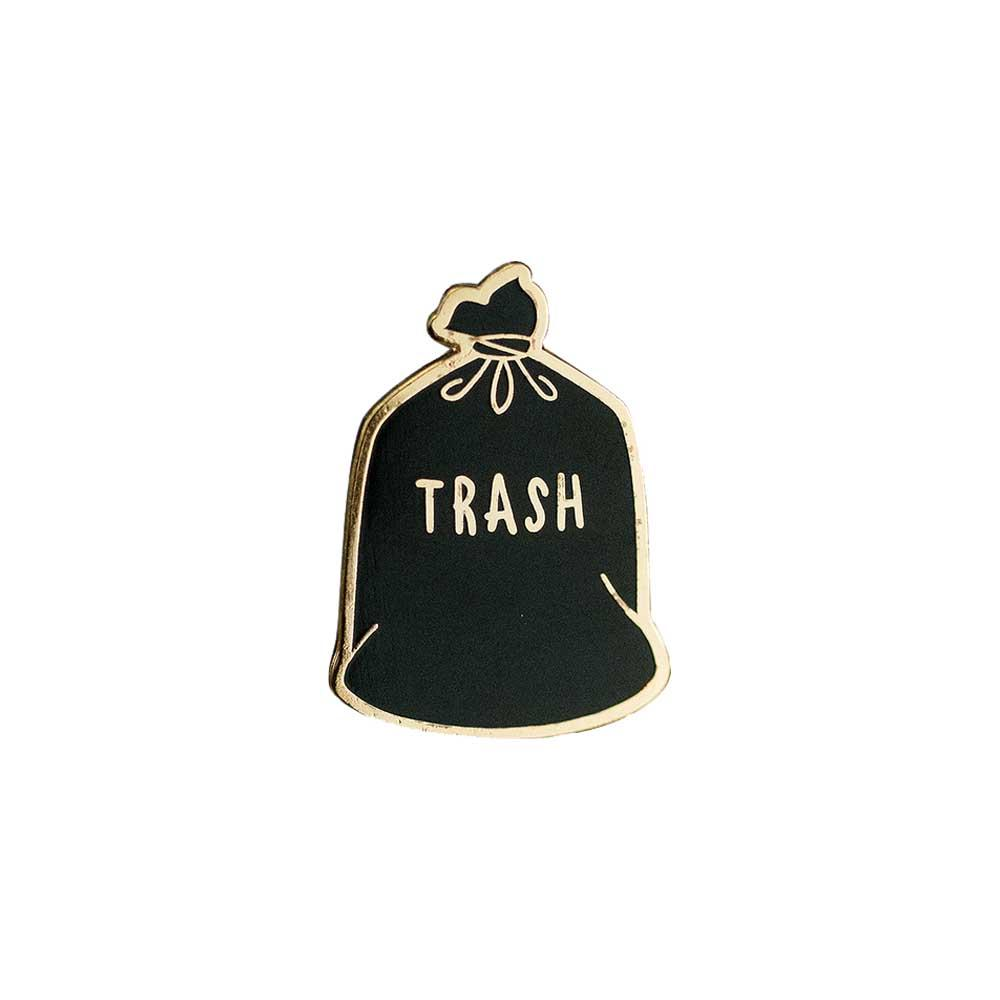 Trash enamel pin gaypin' guys
