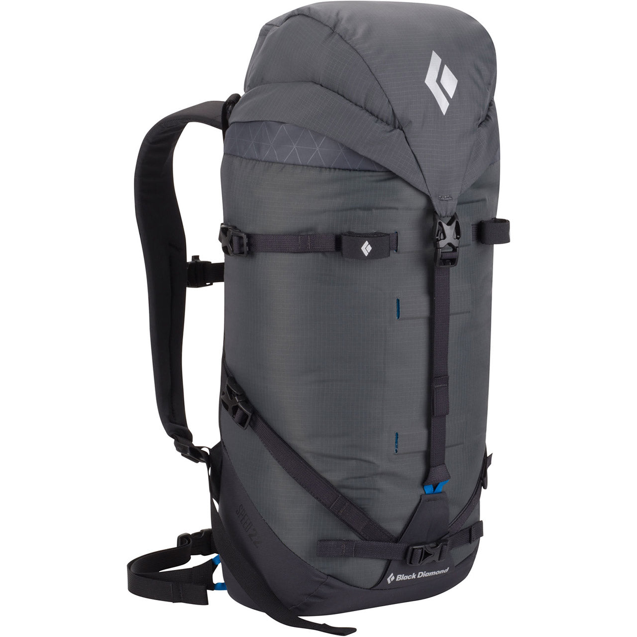 Black Diamond Speed 22 Mountaineering Pack Front Graphite