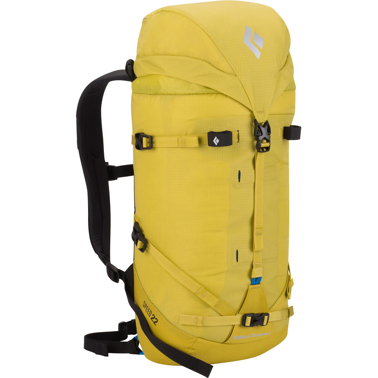 Black Diamond Speed 22 Mountaineering Pack Front-Sulphur