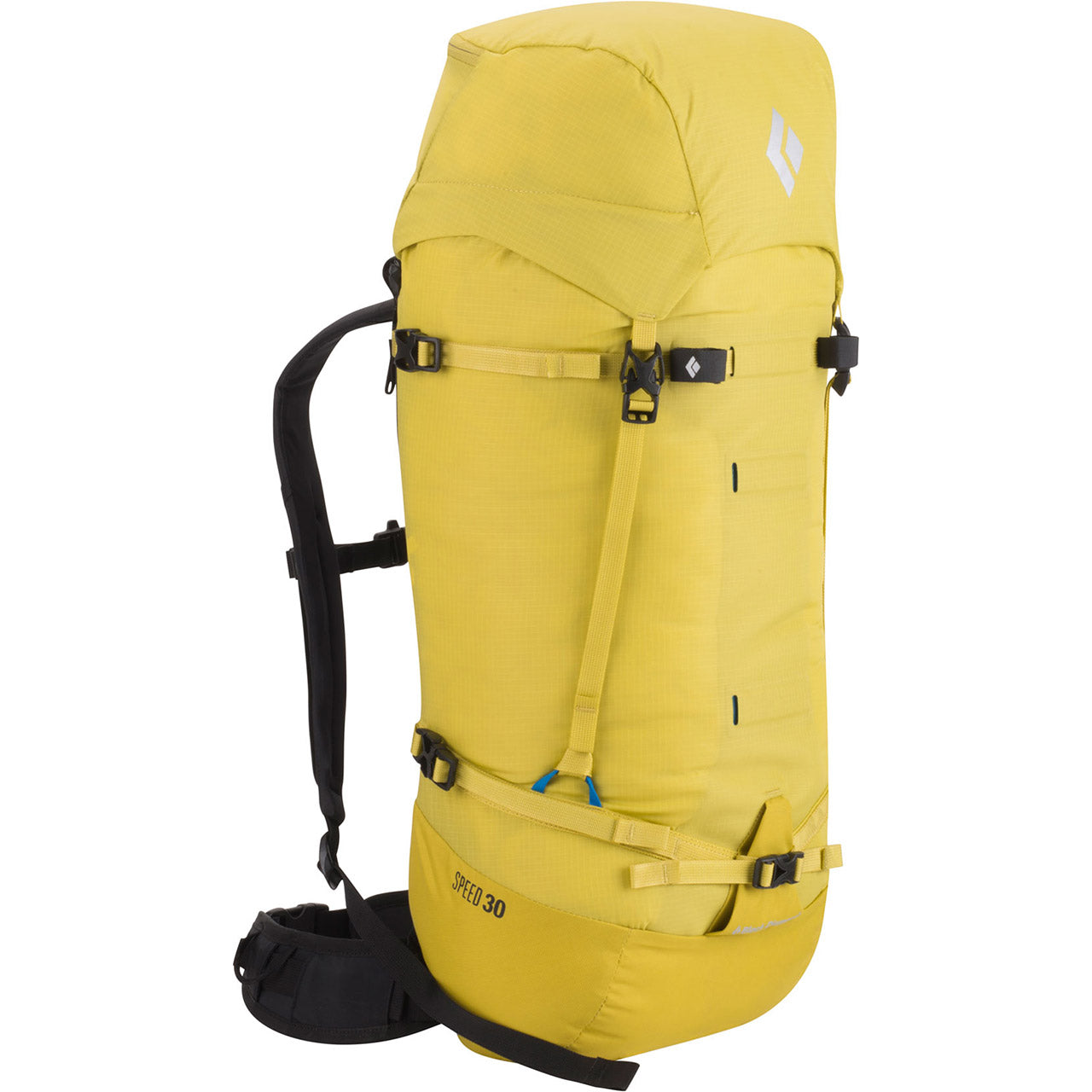 Black Diamond Speed 30 Mountaineering Pack Front Sulphur