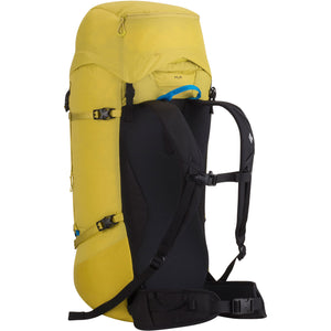 Black Diamond Speed 40 Mountaineering Pack Back Sulphur
