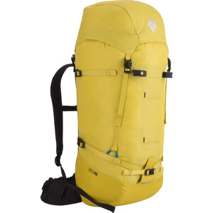 Black Diamond Speed 40 Mountaineering Pack Front Sulphur