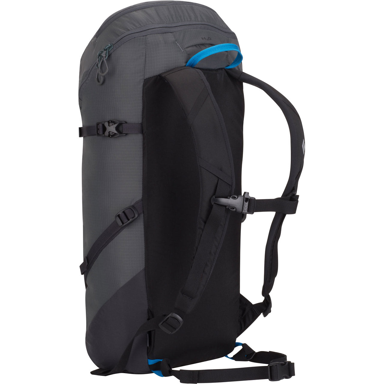 Black Diamond Speed Zip 24 Mountaineering Backpack Graphite Back