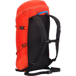 Black Diamond Speed Zip 24 Mountaineering Backpack Octane Back