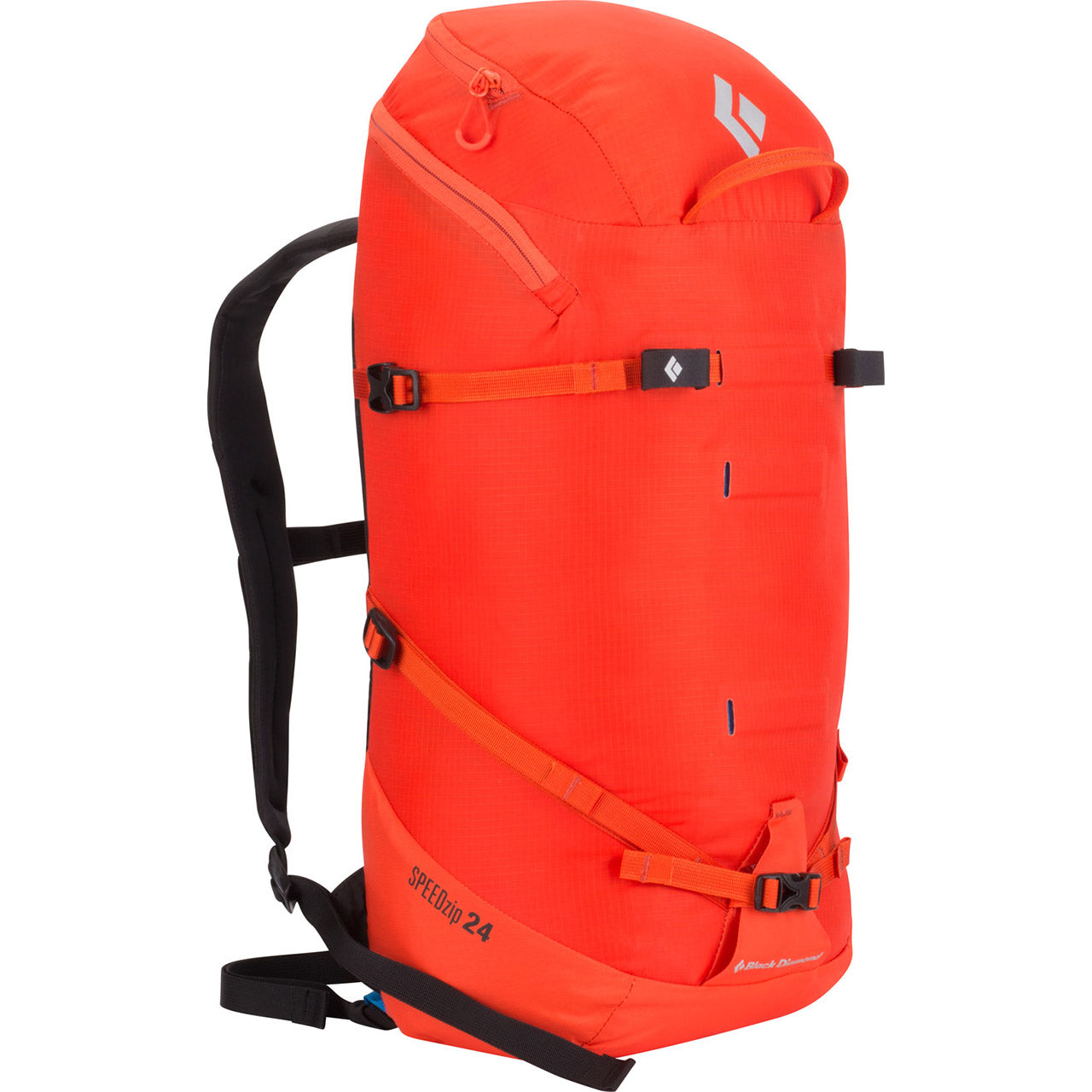 Black Diamond Speed Zip 24 Mountaineering Backpack Octane Front