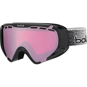 Bolle Explorer Kid's Snow Goggle Shiny Black With Vermillion Gun Lens