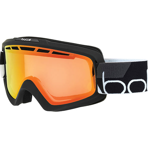 Bolle Nova II Snow Goggles Black With Sunrise Lens