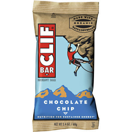 Clif Bar Chocolate Chip - Box of 12